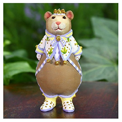 Patience Brewster Mini Victoria Bear Ornament