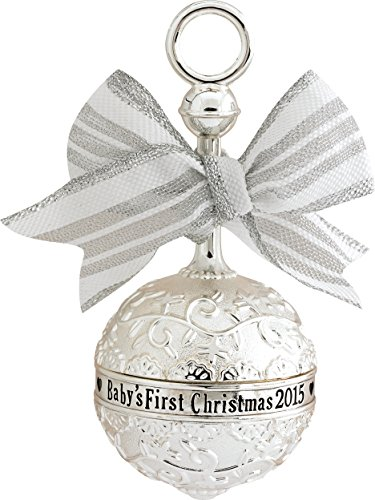 2015 Baby's First Christmas Rattle Carlton Ornament by Carlton