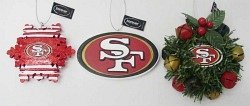 San Francisco 49ers Christmas Ornament Box Set