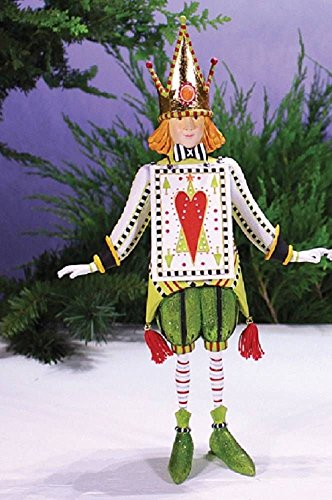 Patience Brewster Cards Collection Christmas Figure, Jack of Hearts