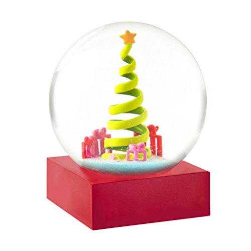 Ribbon Christmas Tree Snow Globe by CoolSnowGlobes