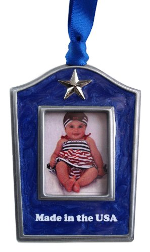 Gloria Duchin Made in the USA Christmas Photo Ornament