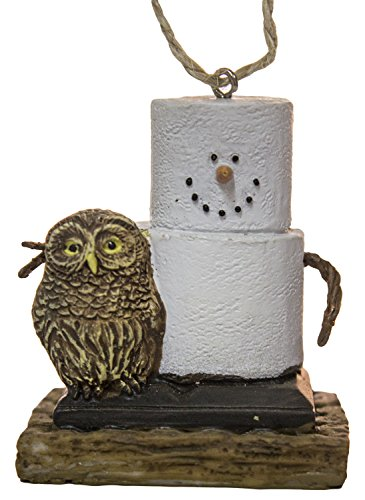 S'Mores Pet Owl Christmas/ Everyday Ornament