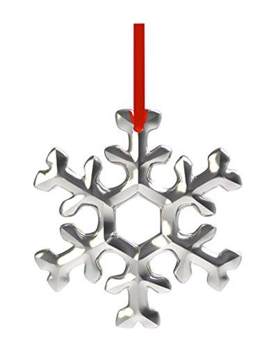 Nambe Snowflake Ornament