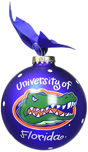 Coton Colors Florida Mascot Glass Ornament