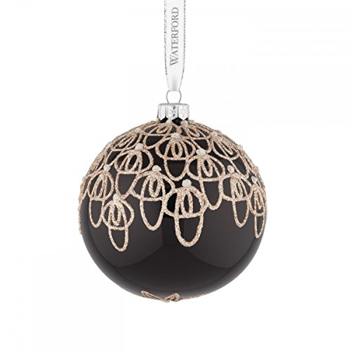Waterford Black Tie Ball Ornament