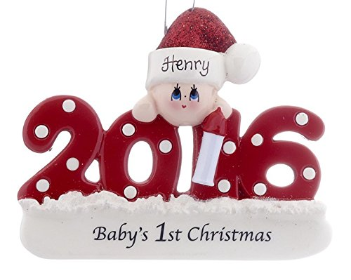 2015 Baby's 1st Christmas – Red