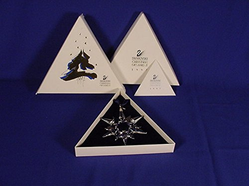 Swarovski 1997 Christmas Star Ornament