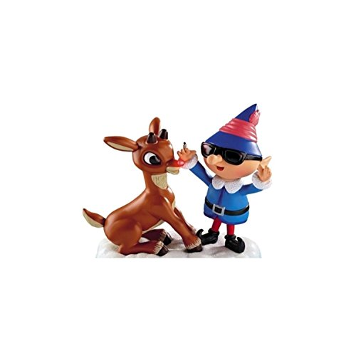 Carlton Cards Rudolph Red-Nosed Reindeer Lighted Christmas Ornament with Sound