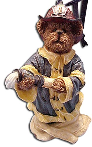 Boyds Bearstones Ornament Chief Elliot Fireman Ornament