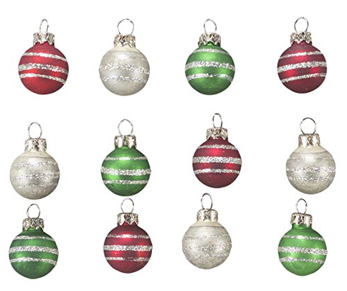Primitives by Kathy Mini Decorated Ornaments – Set of 12