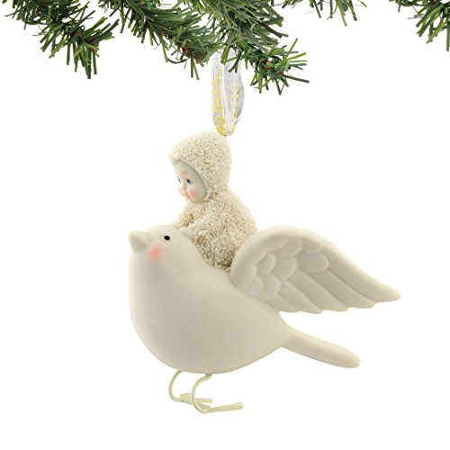 Snowbabies Soaring With A Bird Ornament