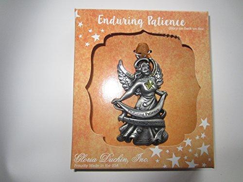 "Gloria Duchin Angel Christmas Ornaments – ""Enduring Patience"""