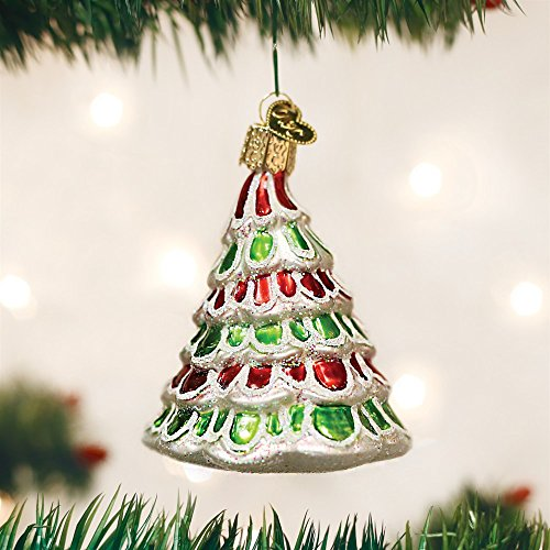 Old World Christmas 48036 Whimsical Tree Glass Blow Christmas Ornament Whimsical Tree