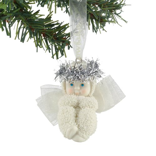 Dream-Snowbabies 25th Anniversary from Department 56 Little Angel Ornament
