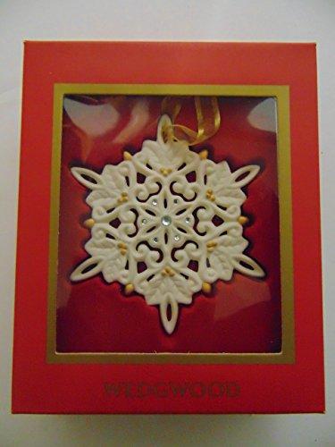 Wedgwood Jeweled Snowflake Ornament