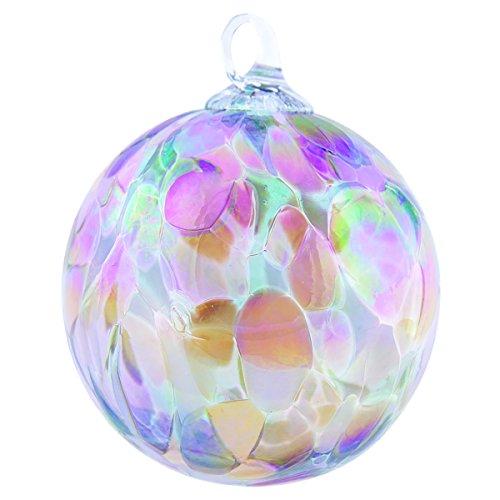 Glass Eye Studio Blush Orchid Classic Ornament