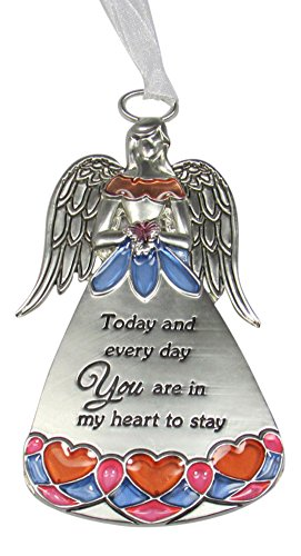 Ganz Love and Blessings Hanging Angel Ornament – Today and Everyday You Are in My Heart to Stay