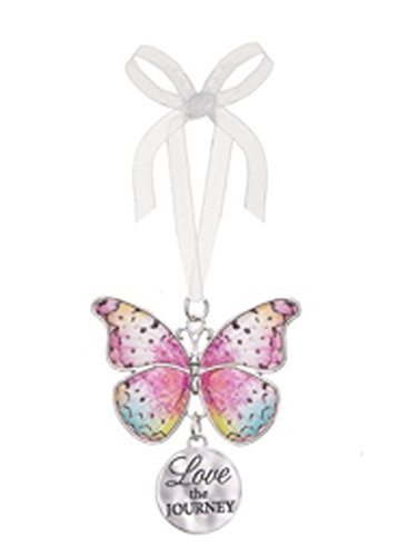Love the Journey Metal Butterfly Ornament – By Ganz