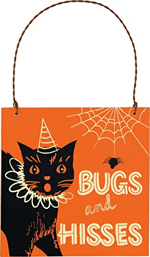 PBK Halloween Ornament – Black Cat Bugs and Kisses #24772