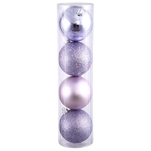 Vickerman 275″ Lavender 4 Finish Ball Ornament 20 per Box