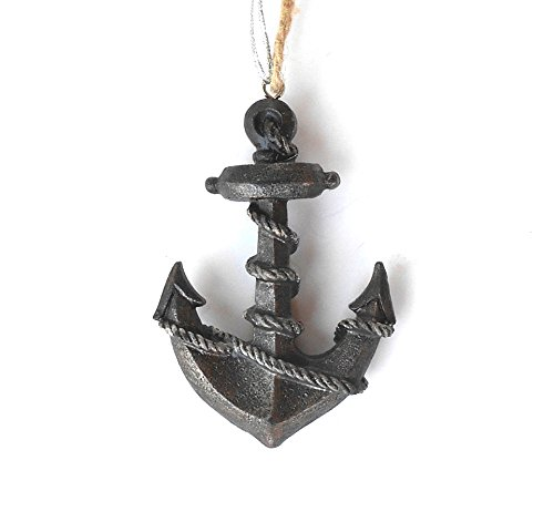 Midwest-CBK Brown Resin Anchor Ornament