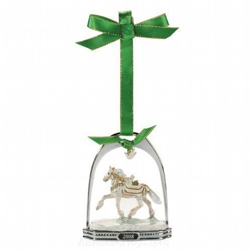 Noelle Holiday Horse Stirrup Ornament – 10th in Series for 2008 by Breyer