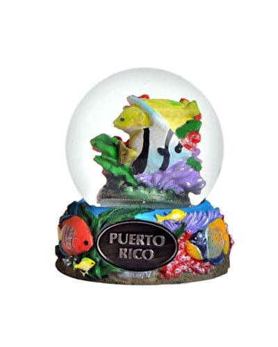 Puerto Rico Snow Globe 65mm