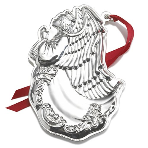 Wallace Grand Baroque Sterling Angel Ornament, 6th Edition.
