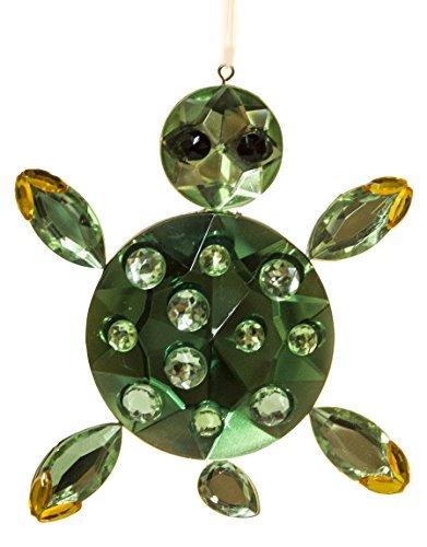 Crystal Expressions Acrylic 3-5 Inch Sea Life Ornament Suncatcher (Sea Turtle)