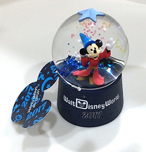 Walt Disney World 2017 Sorcerer Mickey Light Up Snowglobe Snow Globe