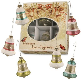 Bethany Lowe Jingle Bell Ornament in a Box