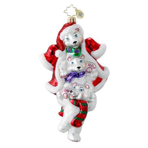 Christopher Radko Polar Stack Pack Ornament