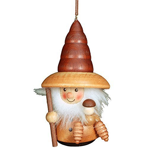 "15-0202 – Christian Ulbricht Ornament – Woodsman – 4″""H x 2.25″""W x 2″""D by Taron Collections"