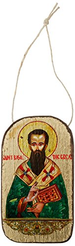 G. Debrekht Saint Basil Icon Wooden Ornament
