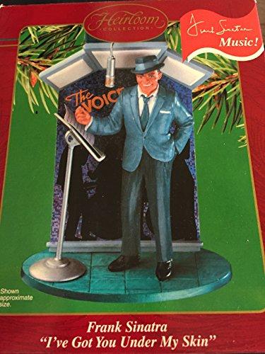 "Carlton Heirloom Frank Sinatra ""I've Got You Under My Skin"" Ornament"
