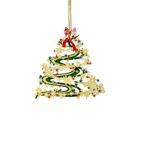 Contemporary Christmas Tree Ornament by ChemArt
