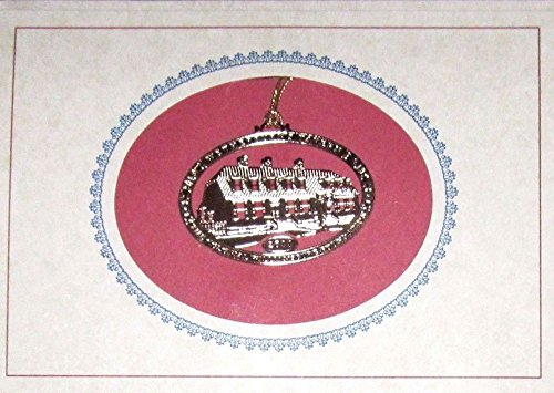 2011 Colonial Williamsburg Foundation 24K Gold Finished Christmas Ornament – Wetherburns Tavern