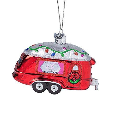 Kurt Adler 4.5″ Noble Gems Glass RV Ornament