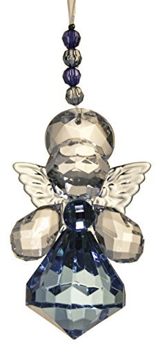 Crystal Expressions Angel Sentiment Collection 3 Inch Ornament (Get Well)