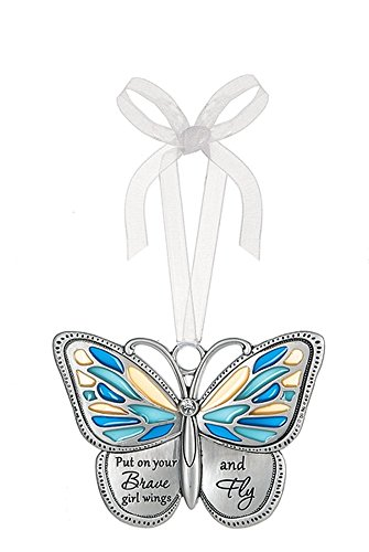Ganz Home Decor Spring Butterfly Wishes Ornaments – Brave Girl Wings