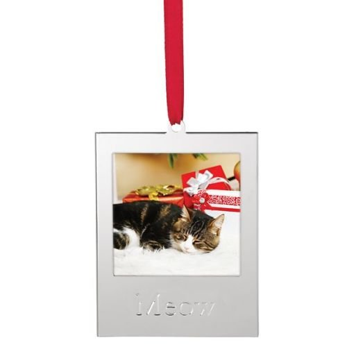 Lenox Frame Ornament, Cat