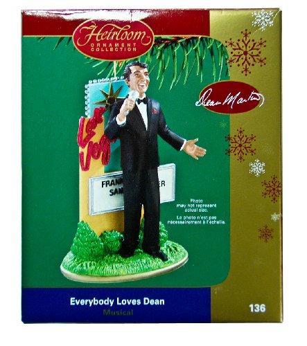 Carlton Heirloom 2005 Dean Martin Ornament Everybody Loves Dean