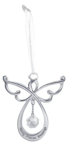 Infinity Angel Ornament – Family, Friends, Blessings