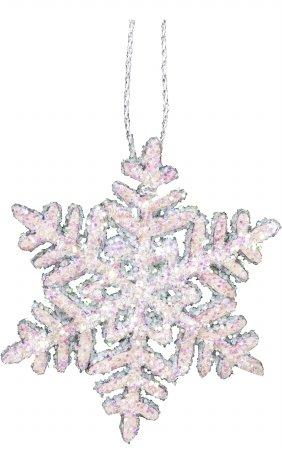 "10-0383 – Christian Ulbricht Ornament – Snowflake – 1.75″""H x 1.75″""W x .1″""D"