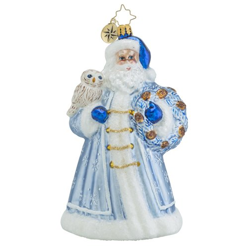 Christopher Radko Father Rime Santa Claus Christmas Ornament