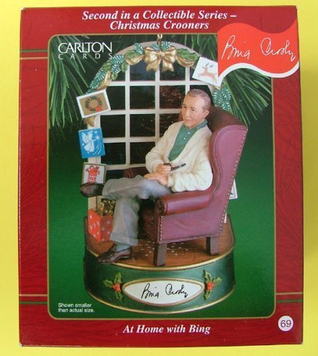 Bing Crosby White Christmas Heirloom Ornament by Carlton Cards