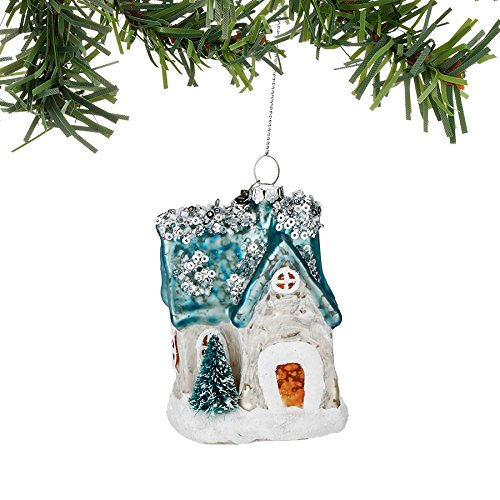 Department 56 Forest Frost by Woodland Cottage Ornament 3.5 In