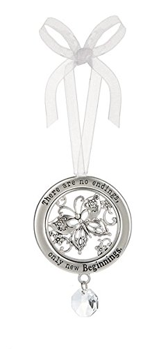 "Ganz Circle of Life Ornament, ""There Are No Endings…"" (ER58322)"