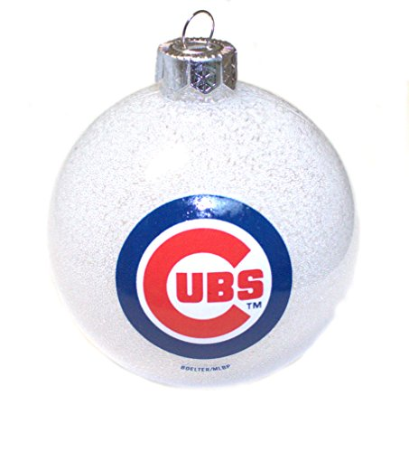 MLB Offically Licensed Chicago Cubs Color Changing LED Ornament